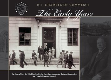 Download 'The Early Years' - US Chamber of Commerce