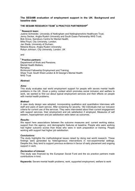 Schneider Sesami Eval Pdf Anglia Ruskin Research Online