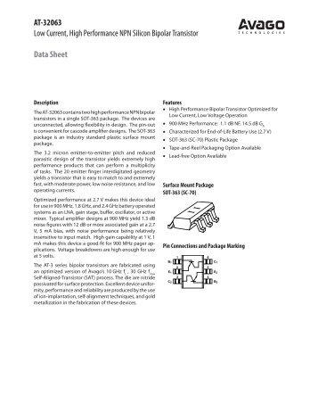 Data Sheet - Richardson RFPD