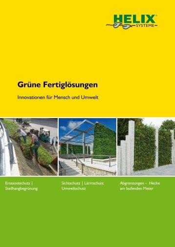 Grüne Fertiglösungen - Bodendecker am laufenden Meter
