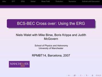 M.C. Birse, B. Krippa, J.A. McGovern, N.R. Walet - Congress.cimne ...