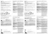 IsoTrans® A 20400: Allgemeine Daten IsoTrans® A 20401 ... - Knick