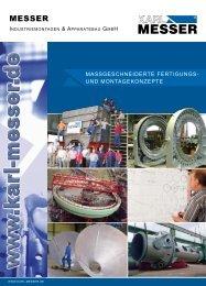 reuter - MESSER Industriemontagen und Apparatebau GmbH