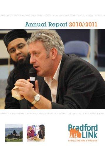 Annual Report 2010//2011 - Bradford LINk