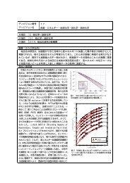 核反応研究の新展開 - 日本化学会ディビジョン