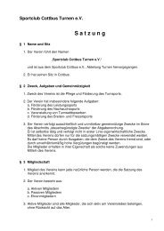 Satzung als PDF-Datei - SC Cottbus Turnen e.V.