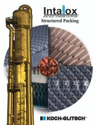 Structured Packing brochure - Koch-Glitsch