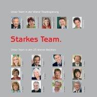 Starkes Team. - Wien 2010