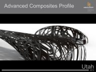 to read EDCUtah's Advanced Composites Industry Profile