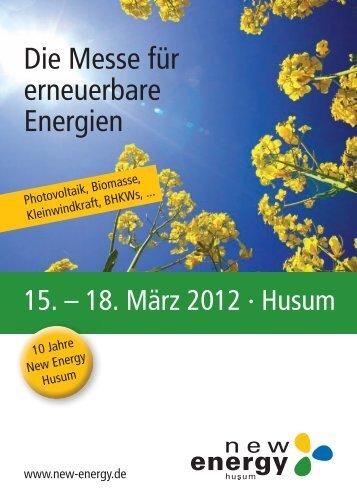 Broschüre 2012 - New Energy Husum