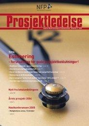 Prosjektledelse, Nr. 2 - 2005 - Norsk senter for prosjektledelse - NTNU