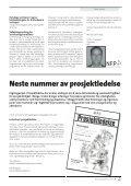Prosjektledelse, Nr. 2 - 2005 - Norsk senter for prosjektledelse - NTNU - Page 5