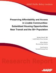Preserving Affordability and Access in Livable Communities ...