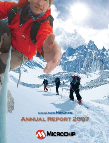 Annual Report 2007 - Microchip