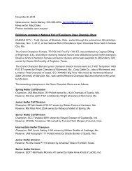 complete show results - American International Charolais Association