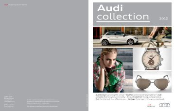 Audi collection - Audi Middle East > Home