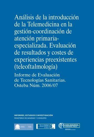 Análisis de la introducción de la Telemedicina en la ... - Euskadi.net