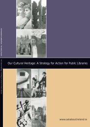 Our Cultural Heritage: A Strategy for Action for ... - Ask about Ireland