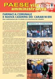 Vita Amministrativa - Giugno 2007 (PDF 1,37Mb) - Comune di Paese