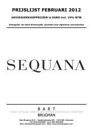 PRIJSLIJST FEBRUARI 2012 - Bart Brugman