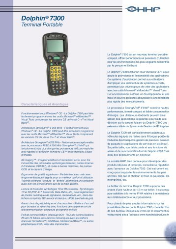 Dolphin 7300 - Codeo