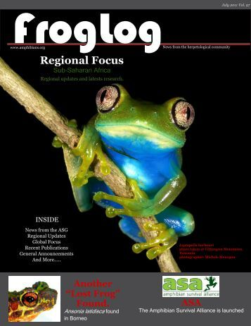 download the pdf here - Amphibian Specialist Group