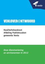 KWAliteitshAndVest - Gemeente Venlo
