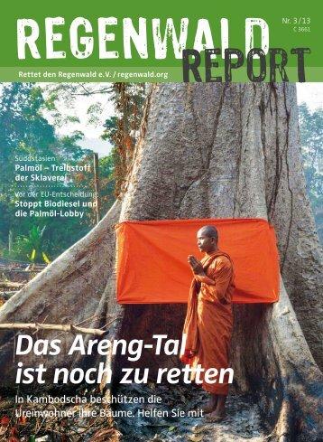 Das Areng-Tal ist noch zu retten