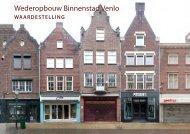 Onderzoek Wederopbouw binnenstad Venlo (Van Meijel Adviseurs)