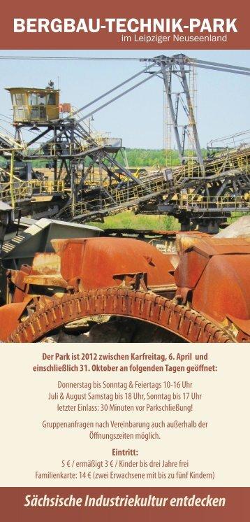 Flyer DINA A Lang 2012 BTP - Bergbau-Technik-Park