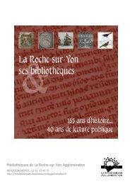Téléchargez ce dossier au format .pdf - médiathèques de La Roche ...