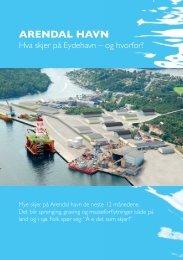 Les mer om Arendal havn - Arendal kommune