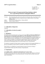 Referat Møde 9 - DEFF