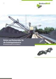 Ketten und Kettenräder für die Schüttgutindustrie - KettenWulf