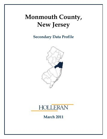 Secondary Data Profile - Monmouth County