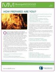 Municipal Messenger - Issue 4 - Regional Municipality of Wood Buffalo