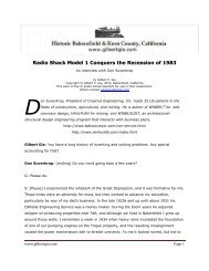 Radio Shack Model 1 Defeats the Recession of 1983 - Gilbertgia.com