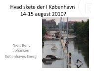 Hvad skete der I København 14-15 august 2010 (896 ... - Vand i Byer