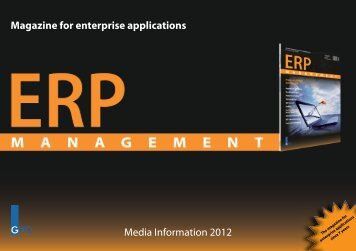 Magazine for enterprise applications Media ... - GITO Verlag