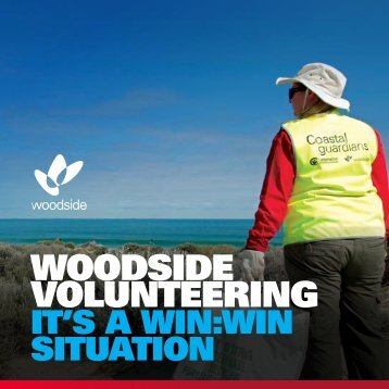 Employee Volunteering Program brochure - Woodside