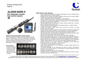 ALADIN MARK II - Video Cine Import