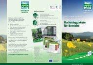 Marketingpakete für Betriebe - Bayerischer-Wald