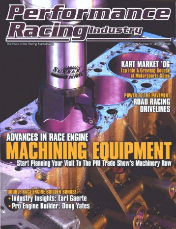 Kart Market '06... Tap Into A Growing Source of Motorsports Sales