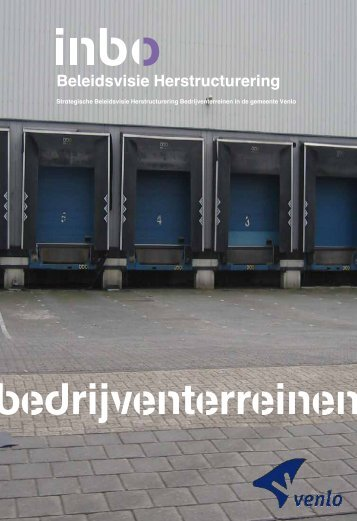 Strategische beleidsvisie - Gemeente Venlo