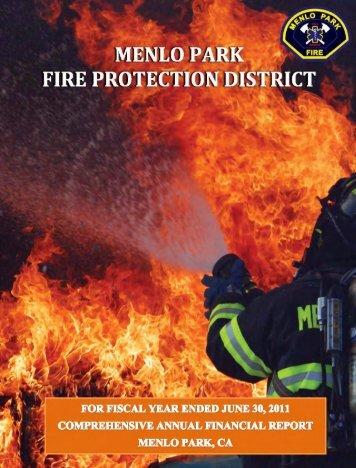 CAFR 10-11 report - Menlo Fire