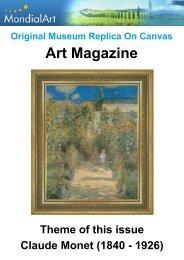 Art Magazine: Claude Monet