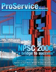 """""""a bridge to success"""" - International Society of Certified Electronics ..."""