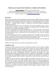 Matrices para regeneración de tejido óseo: estudios ... - SABI - 2011