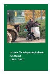 Jahresbericht 2012 - Schule für Körperbehinderte