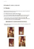 5. lekce Adobe Photoshop 7 - Page 5